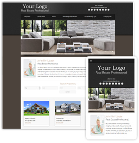 Advantage Series Real Estate Website Template