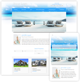 Beach Series Real Estate Website Template