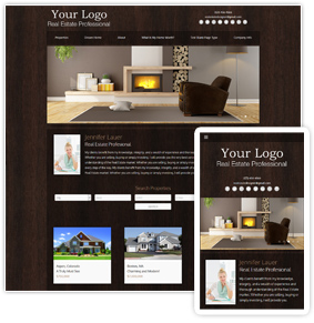 Woodspiration Series Real Estate Website Template