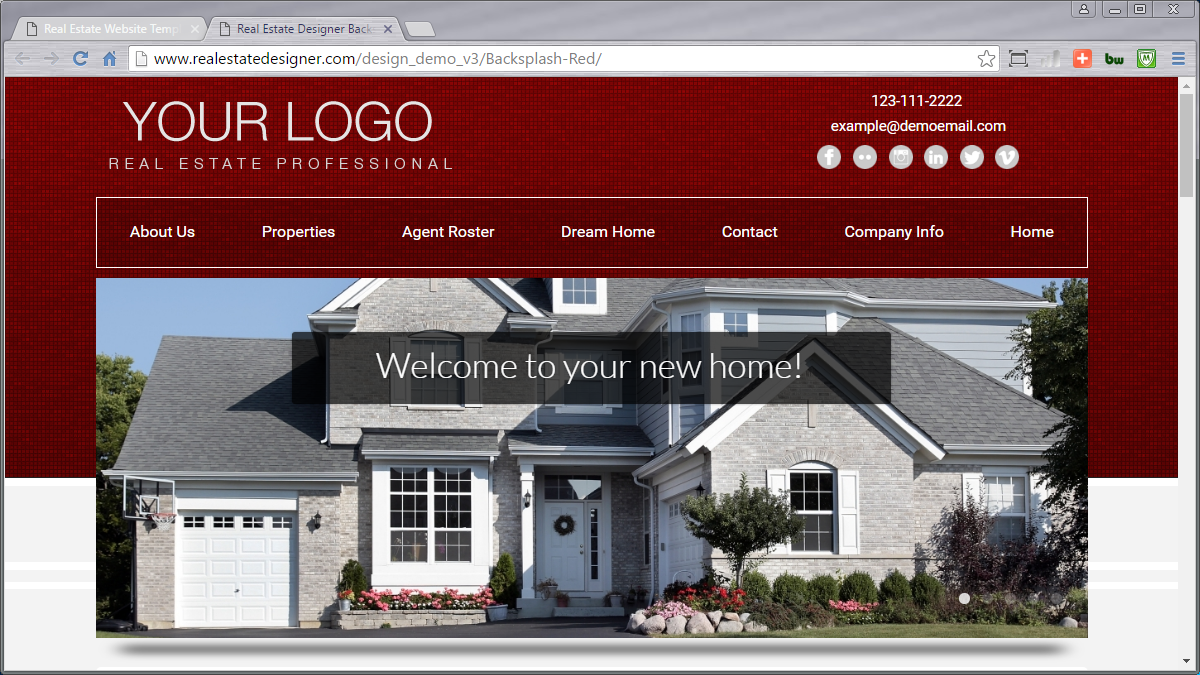 Real Estate Website Templates Idx Mls Integration Real Estate Designer