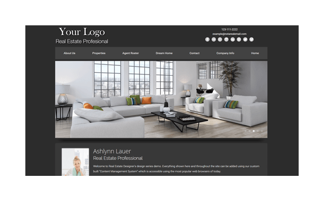 Clean Series Real Estate Website Template